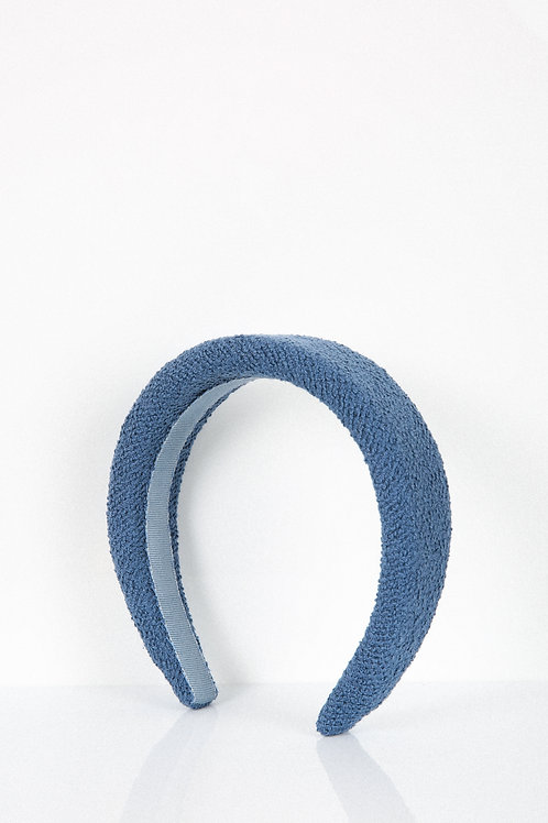 Powder Blue Tweed Headband