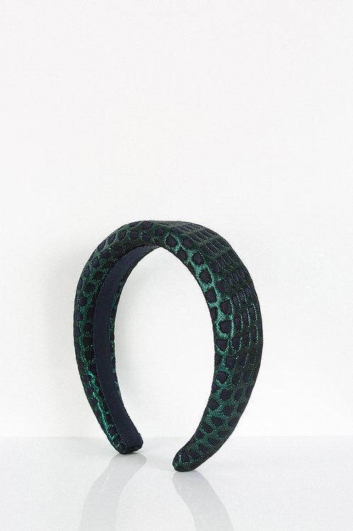 Metallic Peacock Headband