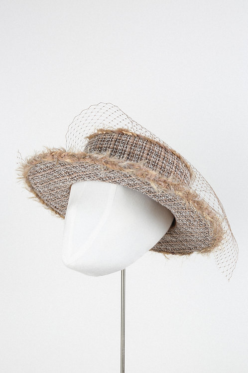 Sandy Fantasy Boater Hat