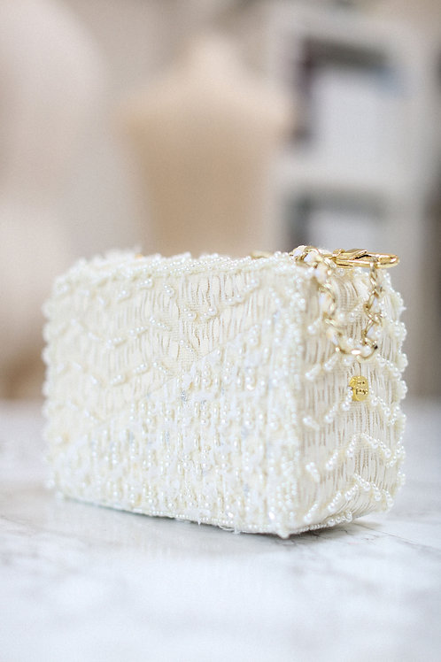Snow Flake Bijoux Couture Bag