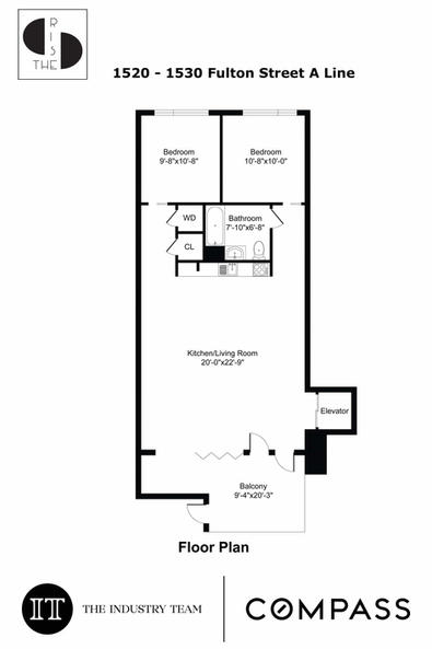 A - Line | 2 Bed