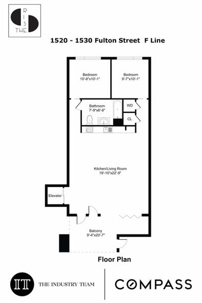 F - Line | 2 Bed