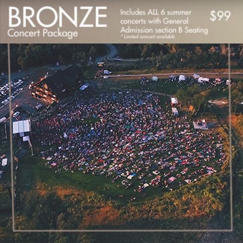 BRONZE: B-Tier Concert Package