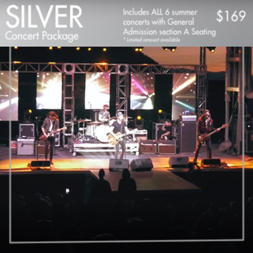 SILVER: A-Tier Concert Package