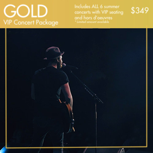 GOLD: VIP Concert Package