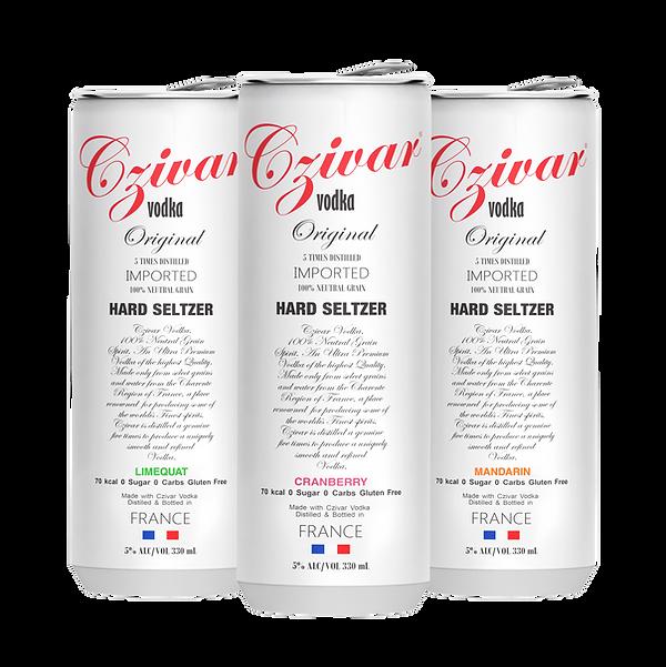czivar vodka private label hard seltzer cans usa uk europe australia asia mid east cans db