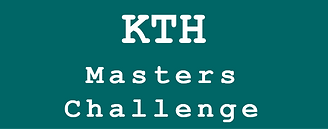 KTH Master's Challenge-2018 - Win scholarships for a Master's degree