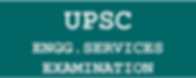 UPSC-Engineering Services Exam-2020