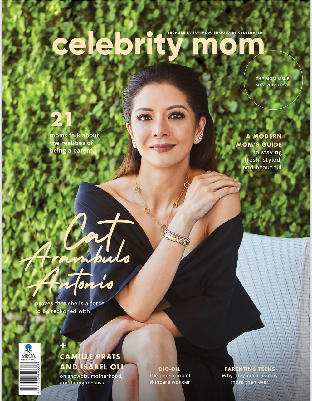 Cover of Celebrity Mom's May 2019 issue