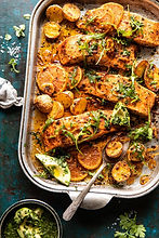 Sheet-Pan-Salmon-with-Citrus-Avocado-Sal