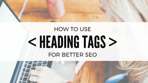 How to use Heading Tags correctly for SEO