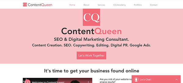 contentqueen website example.png