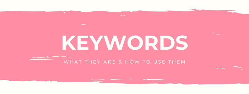 What keyword are in SEO and how to use them