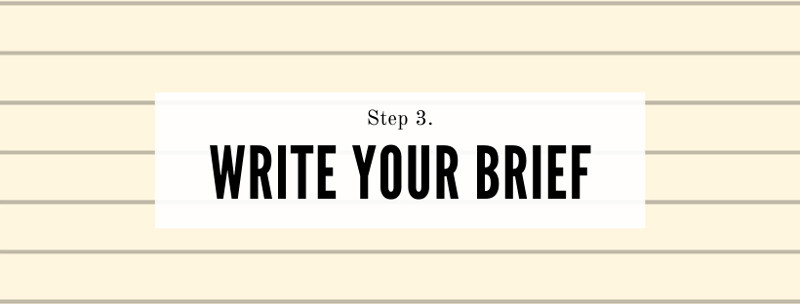 How to write a brief for a freelance writer