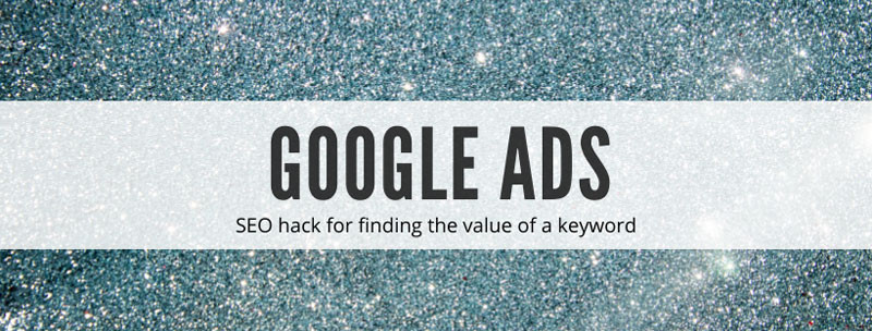 How to use google ads for seo