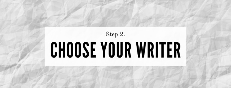 How best to brief a writer