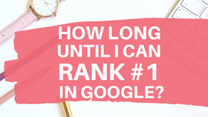How long does it take to rank on the first page of Google?