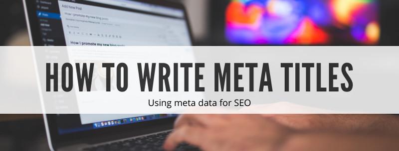 How to write meta titles