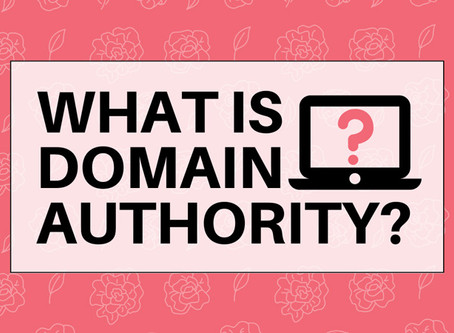 What is Domain Authority & why's it important for SEO?