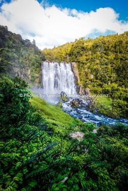 waitomo waterfall