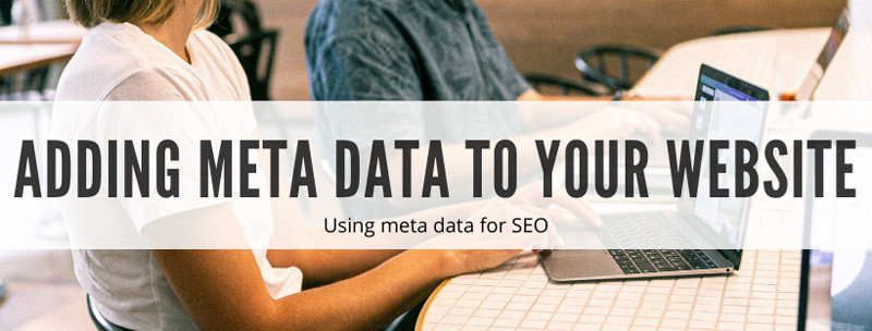 How to add meta data to your website