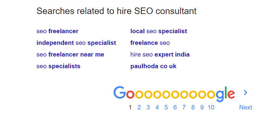 Searches related to seo consultant