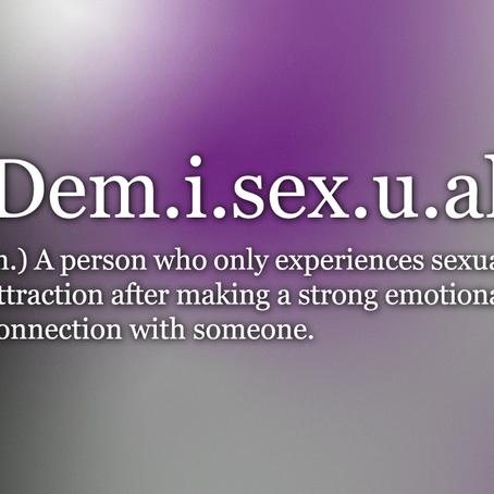 Defining Demisexuality
