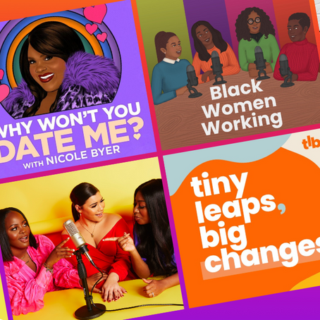 You Should Be Listening To These Podcasts by Black Creators