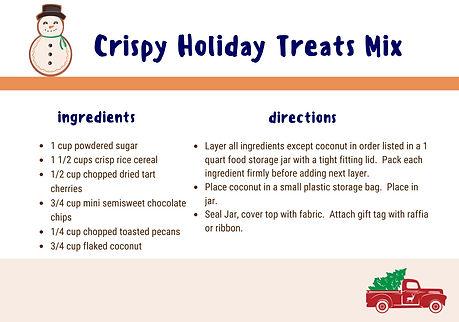 Crispy Treats Holiday Treats Mix