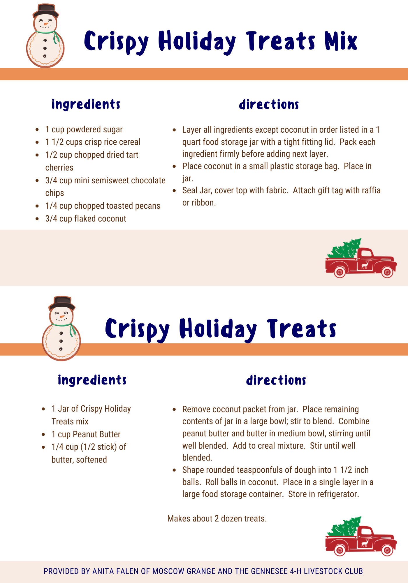 Crispy Holiday Treats