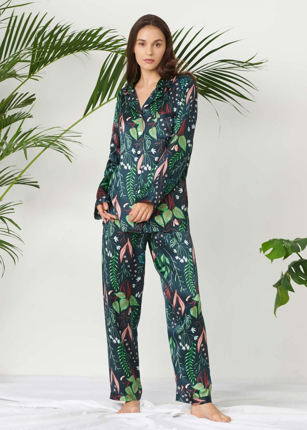 LilySilk floral pyjamas