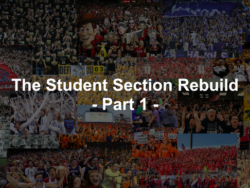 Why Student Sections Matter - The Rebuild