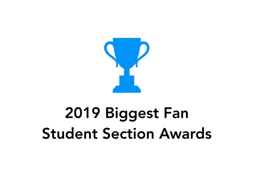 The best student sections of 2019