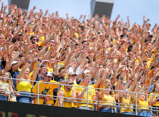 """""""My Takeaways From Leading A Power 5 Student Section"""": Kyle Sams - WVU Mountaineer Maniacs (part 2)"""