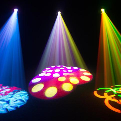 Scanner intelligent lights