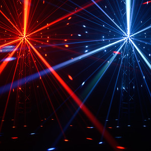 LED Mirrorball effect