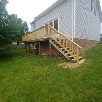 Blacksburg Deck Disaster/Rebuild