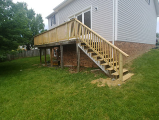 Blacksburg Deck Disaster/Rebuild