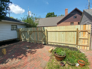 New Fence/ Gate