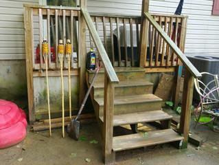 Porch renovation on a budget