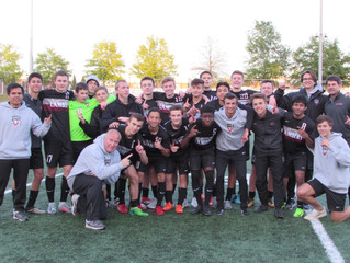 Boys Soccer Region Champs!