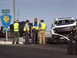 Fatal accident investigated at Sunset and 215 Beltway
