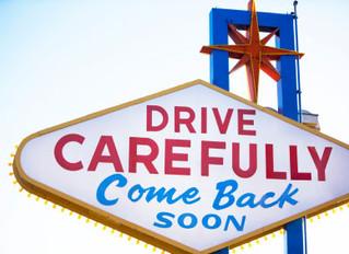 Las Vegas: Truck Crashes Into Welcome to Downtown Las Vegas