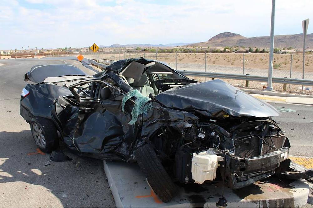 Las vegas traffic fatality 2018