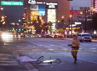 Las Vegas man arrested hours after fleeing hit-and-run crash near Strip