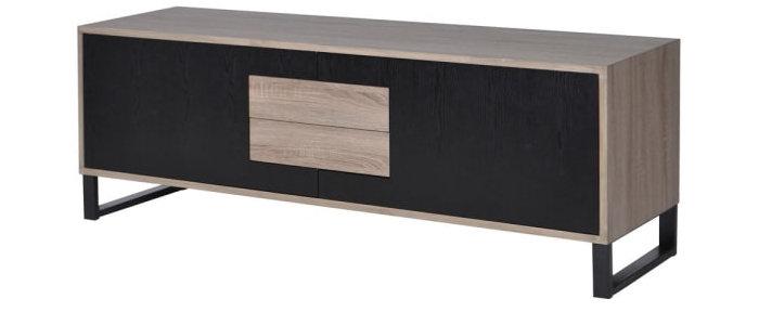 Long 2 door Low Linear Sideboard