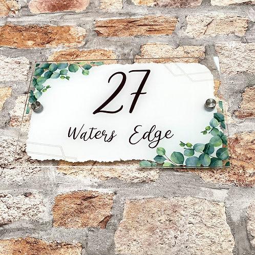 Eucalyptus House Sign