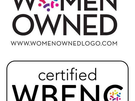 WBENC 2020 Certified!
