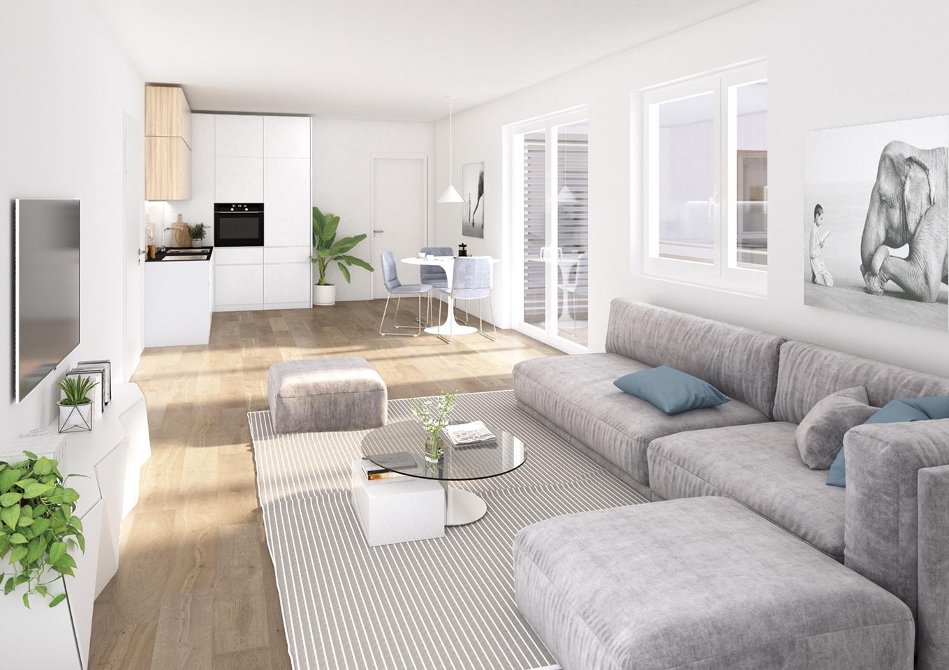 Impressionen Wohnung 3.2.05