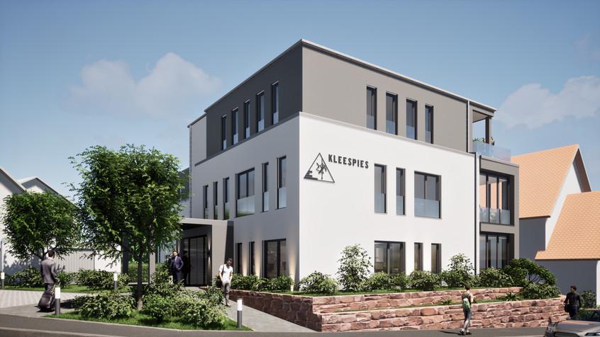 Visualisierung Bürogebäude